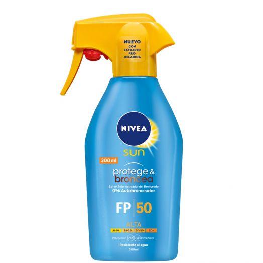 Nivea Sun Protege&Broncea Spray Protector Spf 50 300 Ml