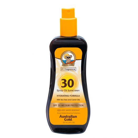 Australian Gold Spray Aceite Protector Solar En Spray Hidratante 237 Ml