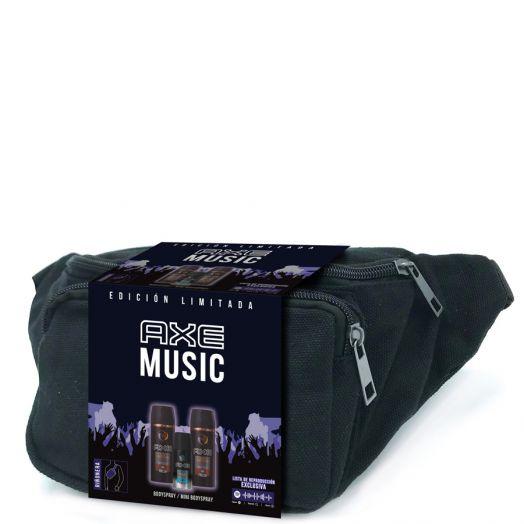Axe Dark Temptation 2 Desodorantes Spray 150 Ml + Mini Ice Chill + Riñonera Estuche