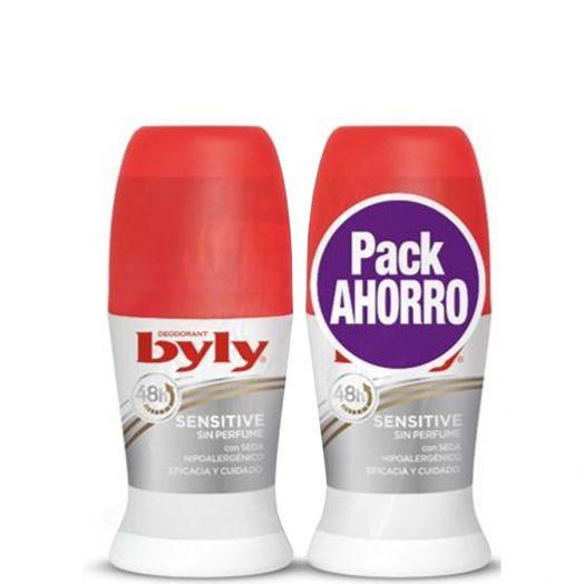 Byly Sensitive Duplo Desodorante Roll-On