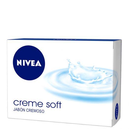 Nivea Creme Soft Jabón En Pastilla 100 Gr