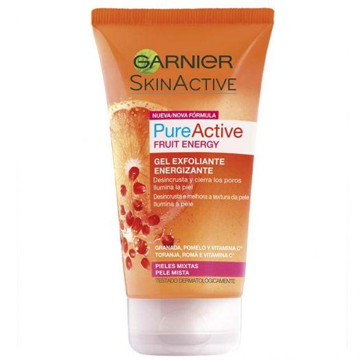 Garnier Skinactive Pureactive Gel Exfoliante Energizante 150 Ml