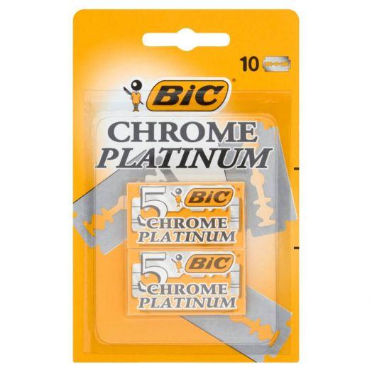 Bic Chrome Platinum Hoja 10 U