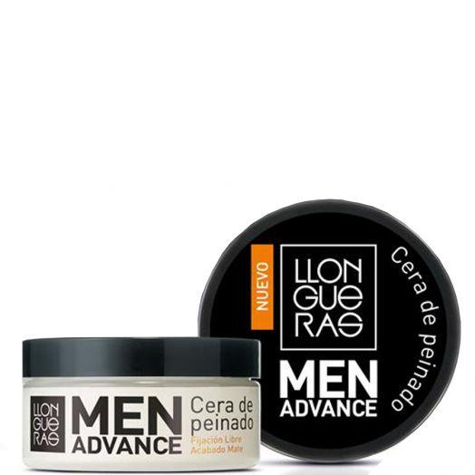 Llongueras Men Advance Cera De Peinado Fijación Libre