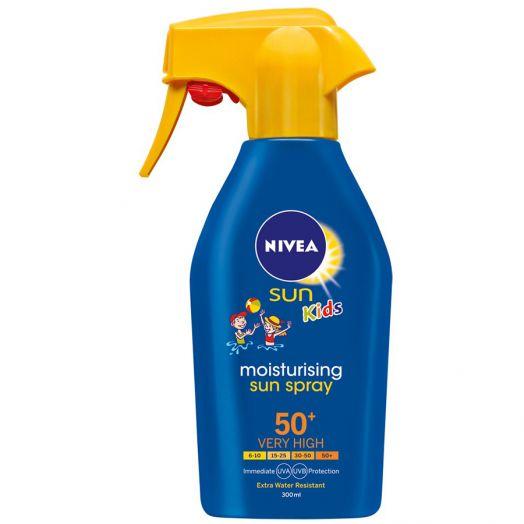 Nivea Spray -Pistola- Niños Fp 50+ 300 Ml