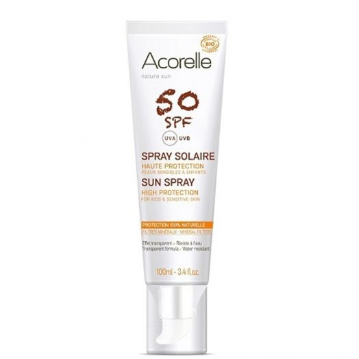 Acorelle Spray Solar Spf50 100 Ml