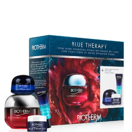 Biotherm Blue Therapy Red Algae Uplift 50 Ml + Blue Therapy Accelerated + Eye + Night Estuche