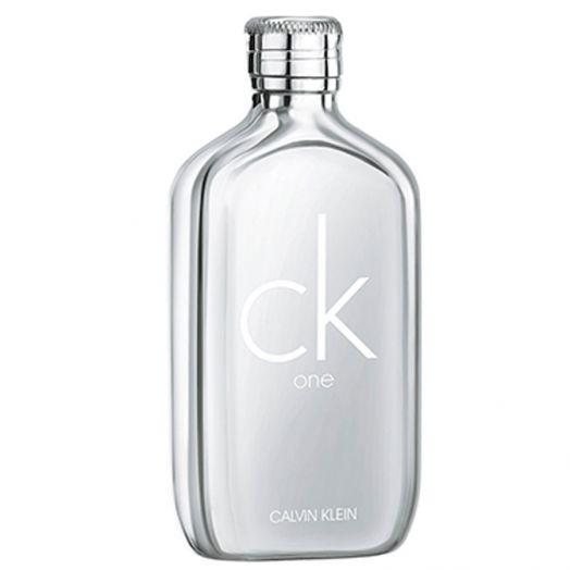Calvin Klein Ck One Platinum Eau De Toilette Spray 100 Ml