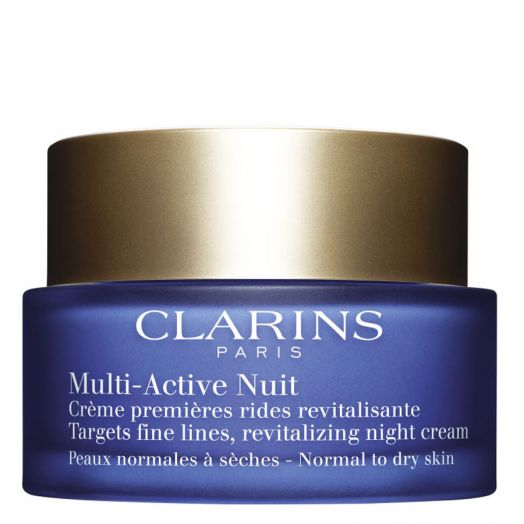 Clarins Multi-Active Noche Crema Confort Para Piel Normal A Seca 50 Ml
