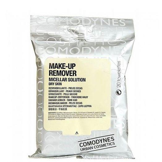 Comodynes Make-Up Remover Toallitas Desmaquillantes Pieles Secas 20 U