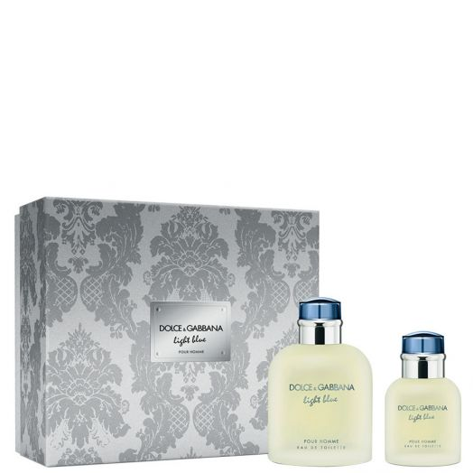 Dolce&Gabbana Light Blue Pour Homme Eau De Toilette Spray 125 Ml + 40 Ml 125 Ml