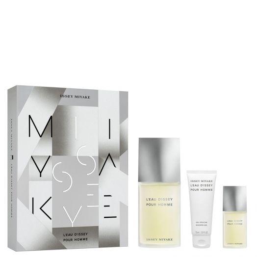 Issey Miyake Issey Miyake Pour Homme Eau De Toilette Spray 125 Ml + Gel + Miniatura