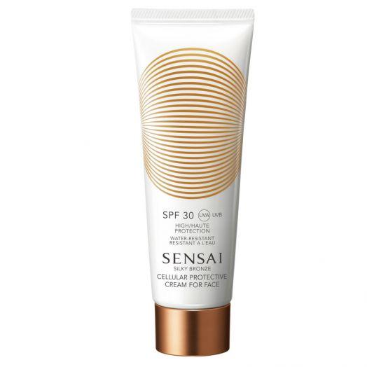 Sensai Silky Bronze Cream For Face B (Spf30) Cellular Protective