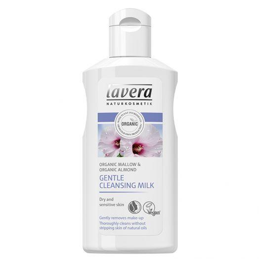 Lavera Leche Limpiadora Suave Malva Y Aceite De Almendras 125Ml