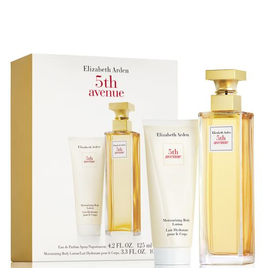 Elizabeth Arden 5Th Avenue  Set Eau De Parfum Spray 125Ml + Leche Corporal