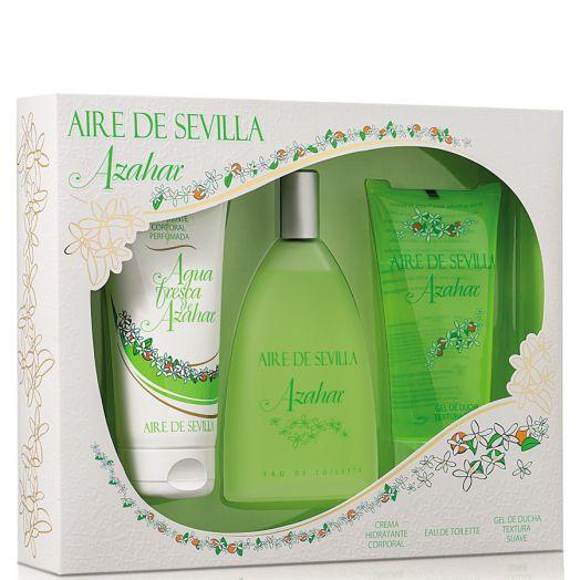 Aire De Sevilla Azahar Eau De Toilette 150 Ml + Crema Hidratante + Gel De Ducha