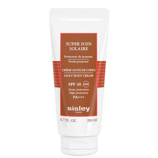 Sisley Super Soin Solaire Silky Body Cream Spf 30 Crema Solar Corporal 200 Ml