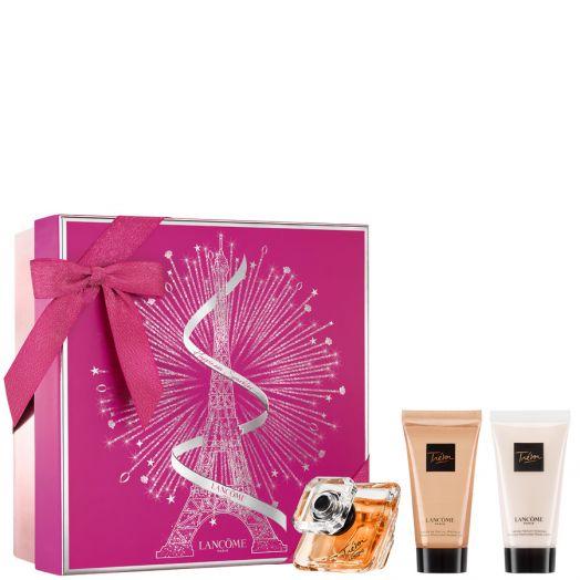 Lancôme Tresor Set Eau De Parfum 50Ml + Gel De Baño + Leche Corporal