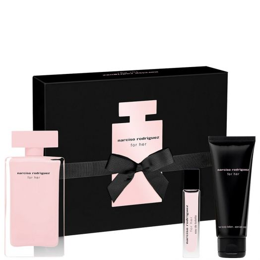 Narciso Rodriguez For Her Eau De Parfum Spray 100 Ml + Body + Minitalla