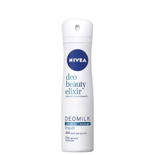 Nivea DeoMilk Beauty Elixir Fresh Desodorante Spray 150 ml