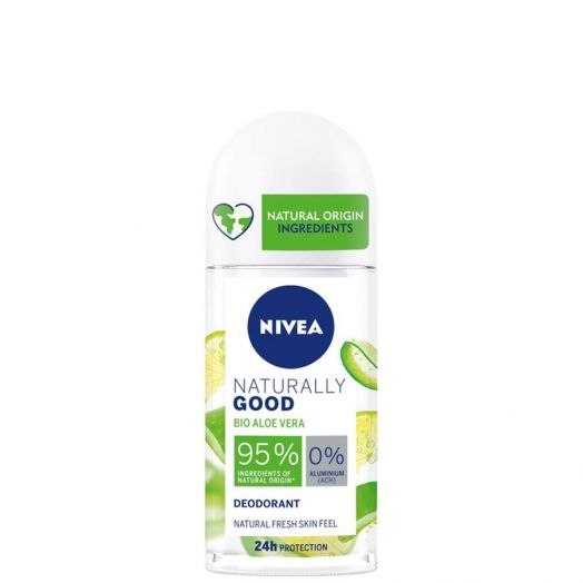 Nivea Naturally Good Bio Aloe Vera Desodorante Roll-on 50 ml