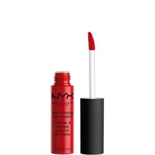 Nyx Professional Make Up Soft Matte Lip Cream Pintalabios cremoso