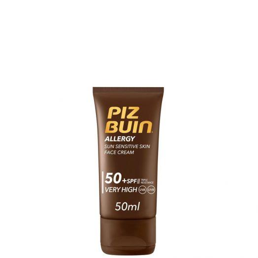 Piz Buin Allergy Facial Crema Rostro Piel Sensible SFP50+ 50 ml