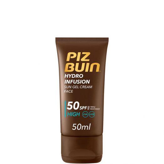Piz Buin Hydro Infusion Loción Facial Protectora SPF50 50 ml