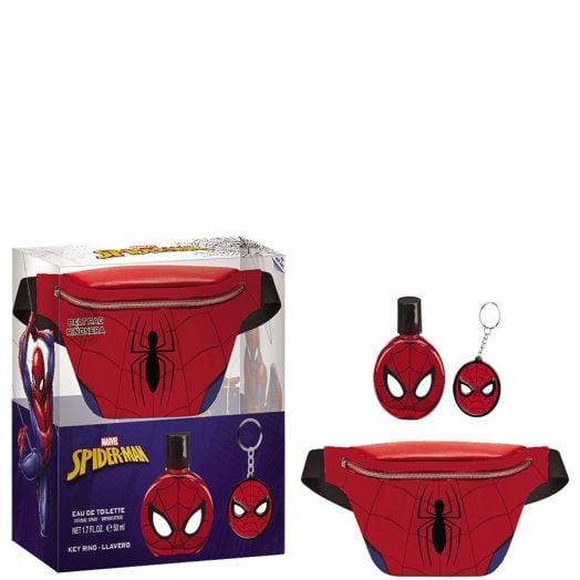 Spiderman Riñonera Spiderman Eau de Toilette Spray 50 + Llavero Estuche