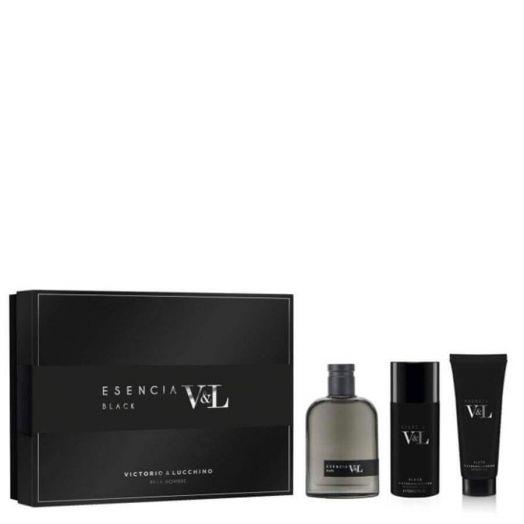 Victorio&Lucchino Esencia V&L Black Eau de toilette Spray 100ML + Desodorante + Gel Estuche