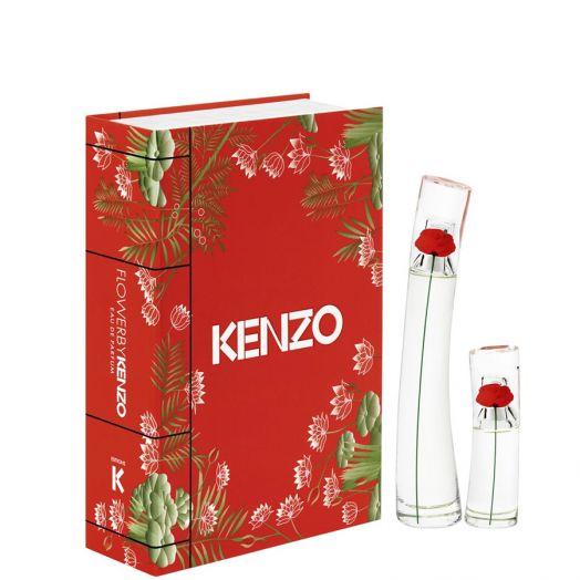 Kenzo Flower By Kenzo Set Eau De Parfum + Minitalla