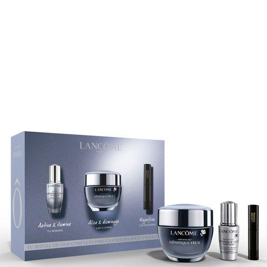 Lancôme Advanced Génifique Crema Contorno Ojos Advanced Génifique Yeux 15 Ml + Advanced Génifique Yeux Light-Pearl + Mascara Hypnose Estuche