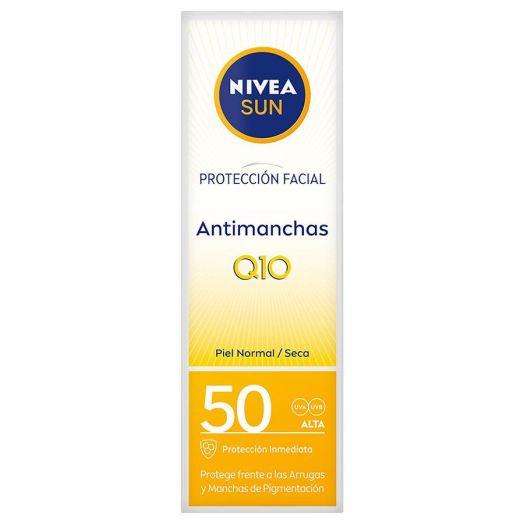 Nivea Sun Q10 Plus Antimanchas Protecci¢n antiedad F50 facial 50 ml