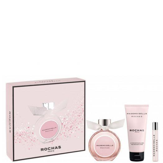 Rochas Rochas Mademoiselle Eau De Parfum Spray 90 Ml + Body + 7,5 Ml