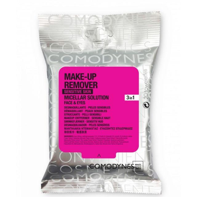 Comodynes Limpiadora Make-Up Removersenstive Skin 20 Unid.