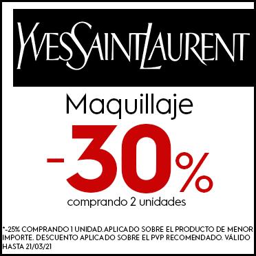 Promoción Maquillaje Yves Saint Laurent