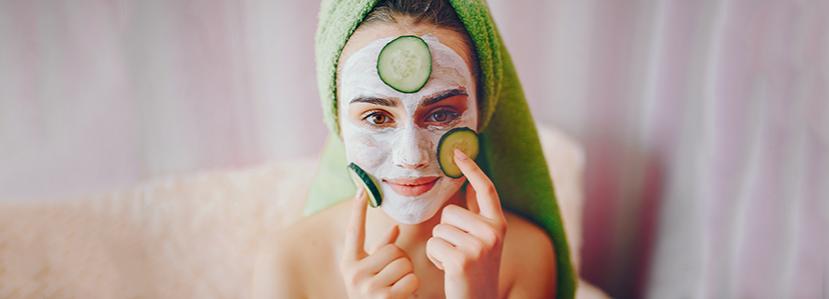Productos de cosmética para piel grasa